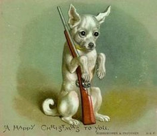 Gun Dog Christmas Card
