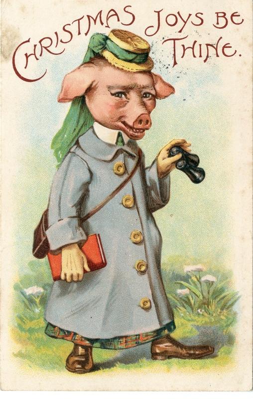 Pigman Christmas Card